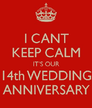 14th Wedding Anniversary