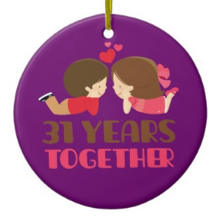 31 years together