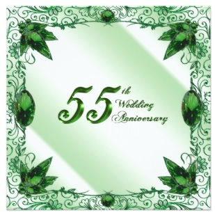 traditional 55th anniversary gifts