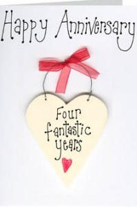 4 Yr Wedding Anniversary Gift Ideas : year anniversary gifts ideas - Romantic ideas