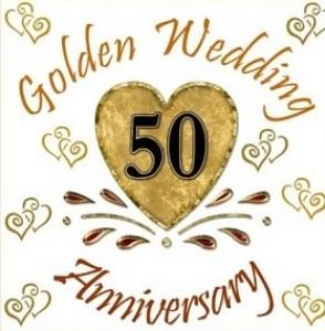 Golden Wedding Anniversary.50th Wedding Anniversary Gifts Ideas For Happy Memories