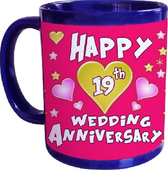 19 Year Wedding Anniversary Gift Themes Happy 19th