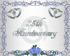 e9eed9a6ef Personalized Silver Wedding Anniversary Gifts. happy 25 anniversary
