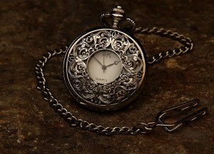 pocket watch anniversary gift